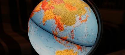 globe du monde asie océanie