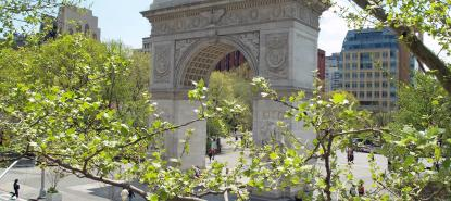 Arche de washington square a New York